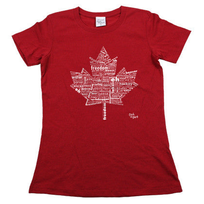 Eh Canada! Women's Red Tee