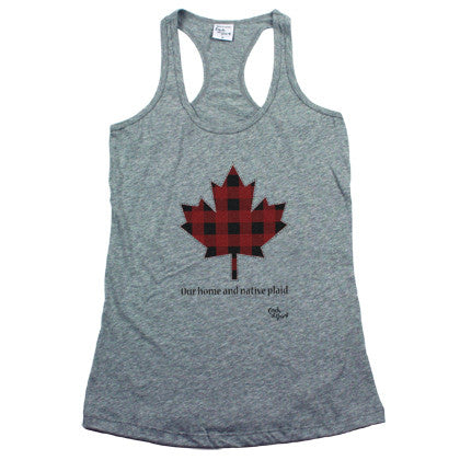 Our Home and Native Plaid Women's Tank Top