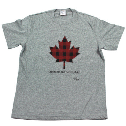 Our Home and Native Plaid Men's T Shirt