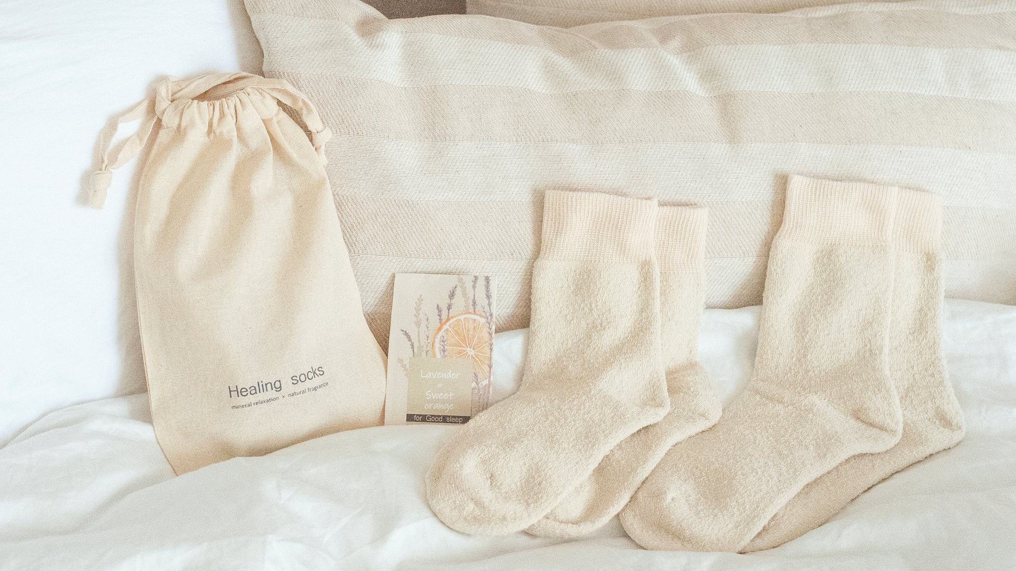 Quality time line with nature debut   healing socks公式ギフト通販