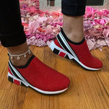 Faddishshoes Slip-On Pointed Toe Sneakers