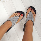Faddishshoes Karley Embellished Summer Sandals