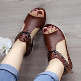 Faddishshoes Casual Cool Chain Wedge Heel Sandals