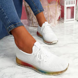 Faddishshoes Rainbow Trainers Sneakers