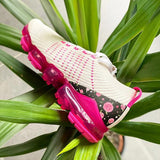 Faddishshoes Air Flower Woven Fashion Sneakers