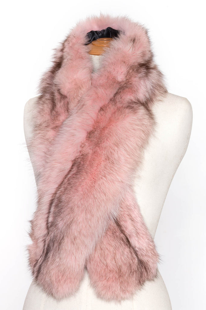 Scandinavian Real Fur Stole