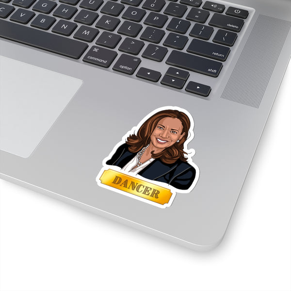 Kamala Harris Dancer Sticker