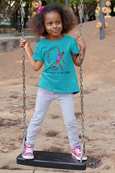 Dancing is in our DNA Girls' Tee