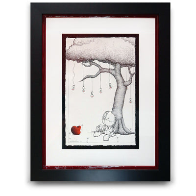 Fabio Napoleoni Make a Wish Original Pen and Ink