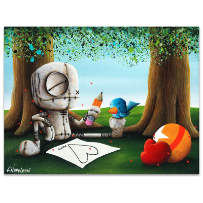 Fabio Napoleoni Statement Made Limited Edition Paper Giclee