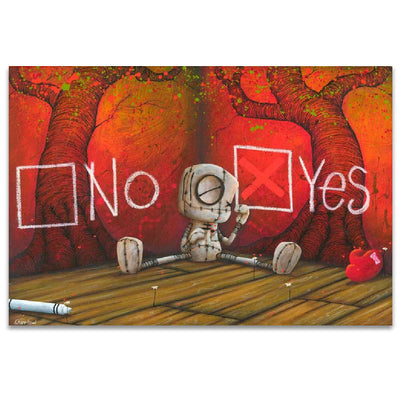 Fabio Napoleoni A Solid Declaration Limited Edition Canvas Giclee