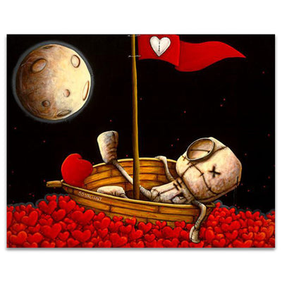 Fabio Napoleoni Afloat on Waves of Desire Limited Edition Canvas Giclee