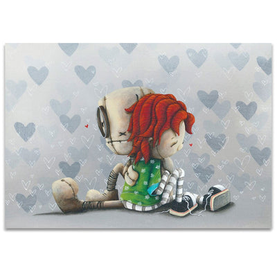 Fabio Napoleoni Heart to Heart Limited Edition Giclee