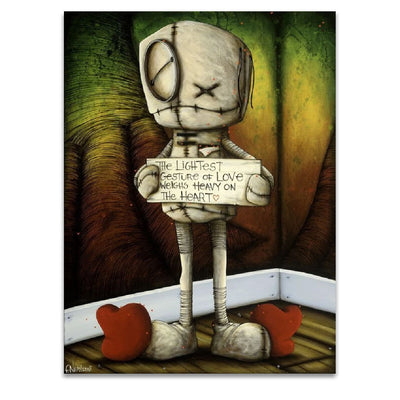 Fabio Napoleoni If Your Mind Begins to Doubt Limited Edition Paper Giclee