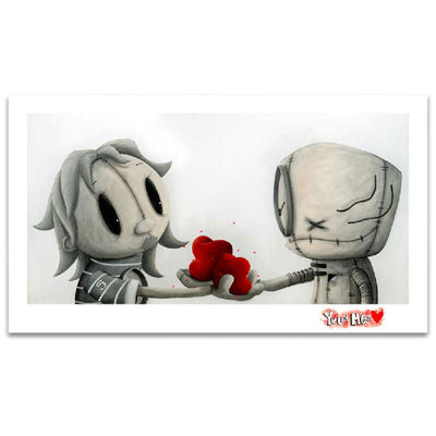 Fabio Napoleoni My Love For Your Love Limited Edition Paper Giclee
