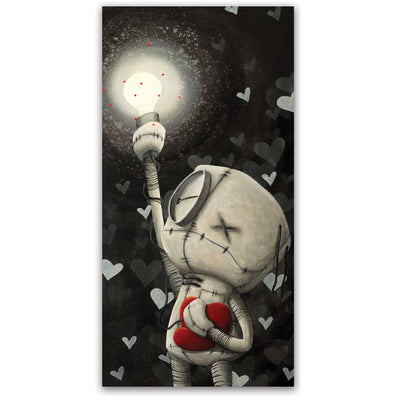 Fabio Napoleoni Never Dark When You Hold Onto Hope Limited Edition Paper Giclee