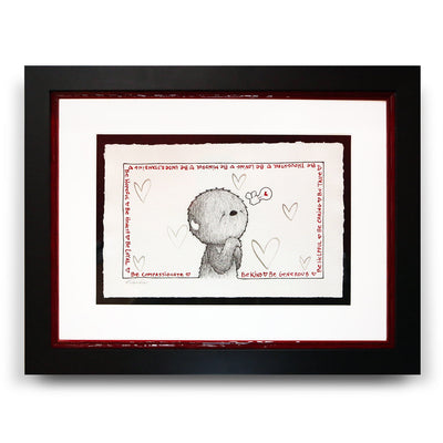 Fabio Napoleoni Be Kind Original Pen and Ink