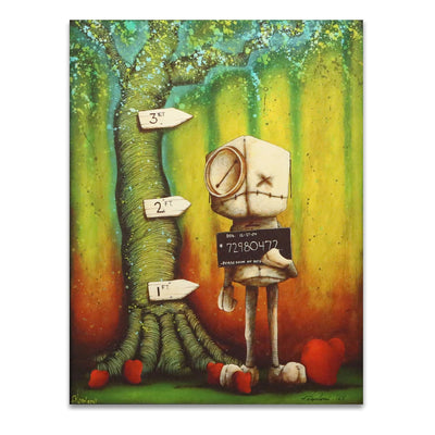 Fabio Napoleoni Possession of Hope (Color) Limited Edition Canvas Giclee