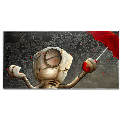 Fabio Napoleoni Shower Me With Love and Kisses Limited Edition Canvas Giclee