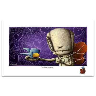 Fabio Napoleoni The Biggest Gift of All Limited Edition Paper Giclee