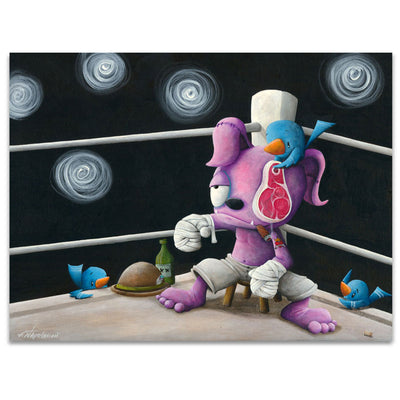 Fabio Napoleoni The Party Is Just Starting Limited Edition Canvas Giclee