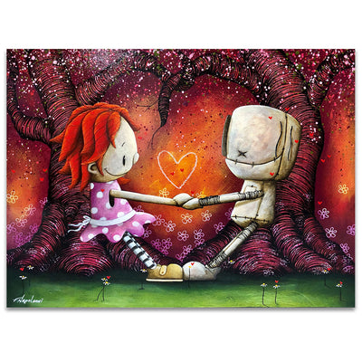 Fabio Napoleoni Together Forever and Ever Limited Edition Canvas Giclee