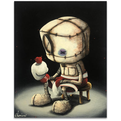 Fabio Napoleoni We Fight For What We Love Limited Edition Giclee