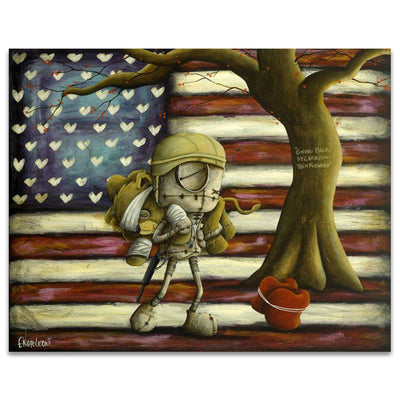 Fabio Napoleoni We Go Forward Together Limited Edition Canvas Giclee