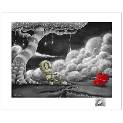 Fabio Napoleoni We Keep It Together Limited Edition Paper Giclee
