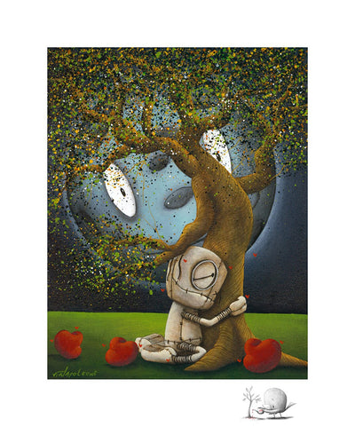 Fabio Napoleoni We Need Each Other Limited Edition Paper Giclee