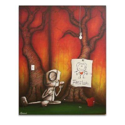 Fabio Napoleoni You I Will Never Forget Limited Edition Canvas Giclee