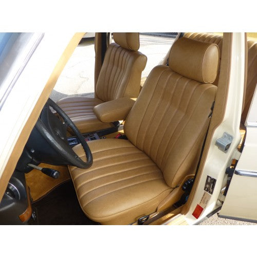 Mercedes W123 Front Seat Cover Kit | All Colors