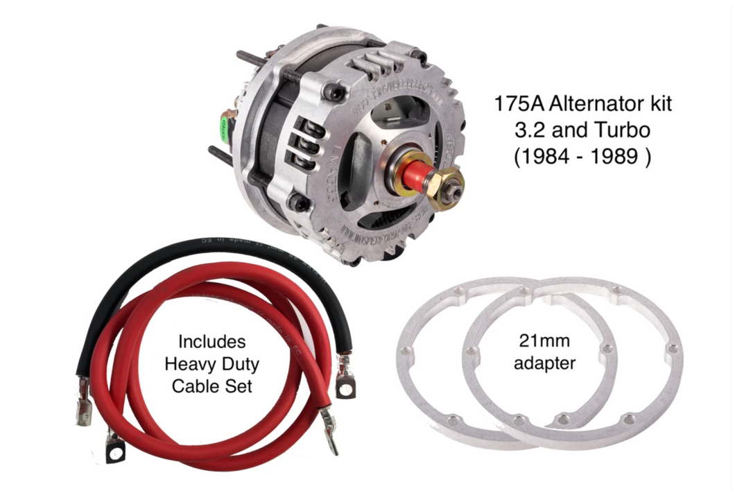 Porsche 911 High Output 175A Alternator Kit 1984 - 1989