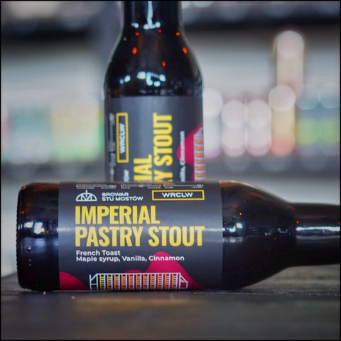 Browar Stu Mostow, Imperial Pastry Stout.