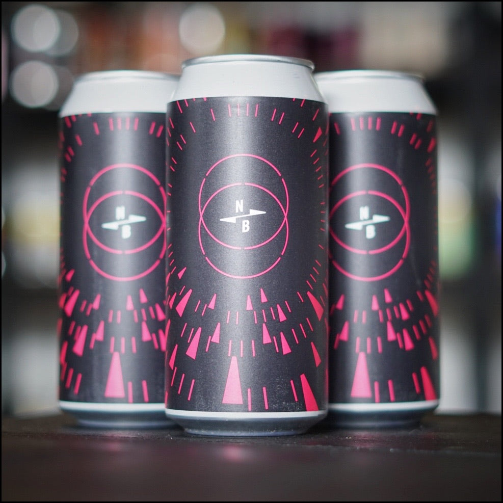 North brewing en Naparbier, triple fruited x rise up