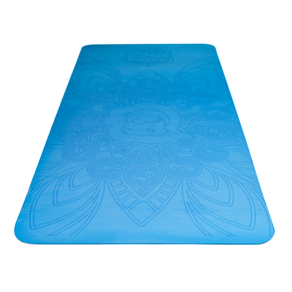 Kids Eco Yoga Mat - Wave