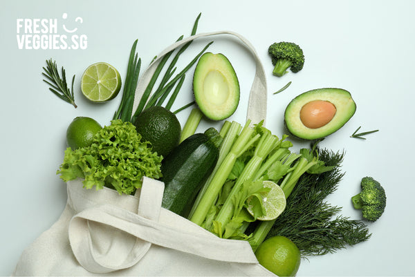 Earth Day-Fresh Veggies SG Fresh Vegetables Online Delivery in Singapore
