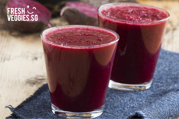 Fresh Veggies SG Fresh Vegetables Online Delivery in Singapore-Beetroot  Juice Ginger Cucumber and lemon-5 Healthy Ways to Enjoy your Beets!