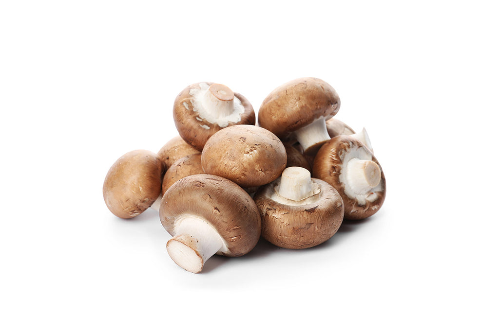 Mushroom Brown Button - 001-Fresh Veggies SG Fresh Vegetables Online Delivery in Singapore 棕色蘑菇