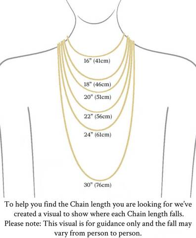 jewellery size guide- ELXNAY