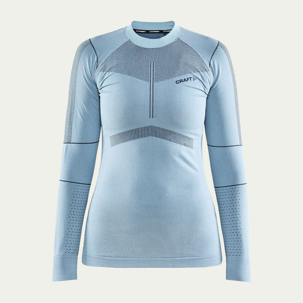 Craft Women's Active Intensity Crew Neck LS Blue AW20