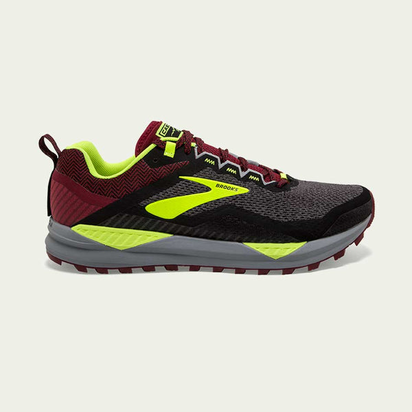 Brooks Men's Cascadia 14 Black/Red/Nightlife