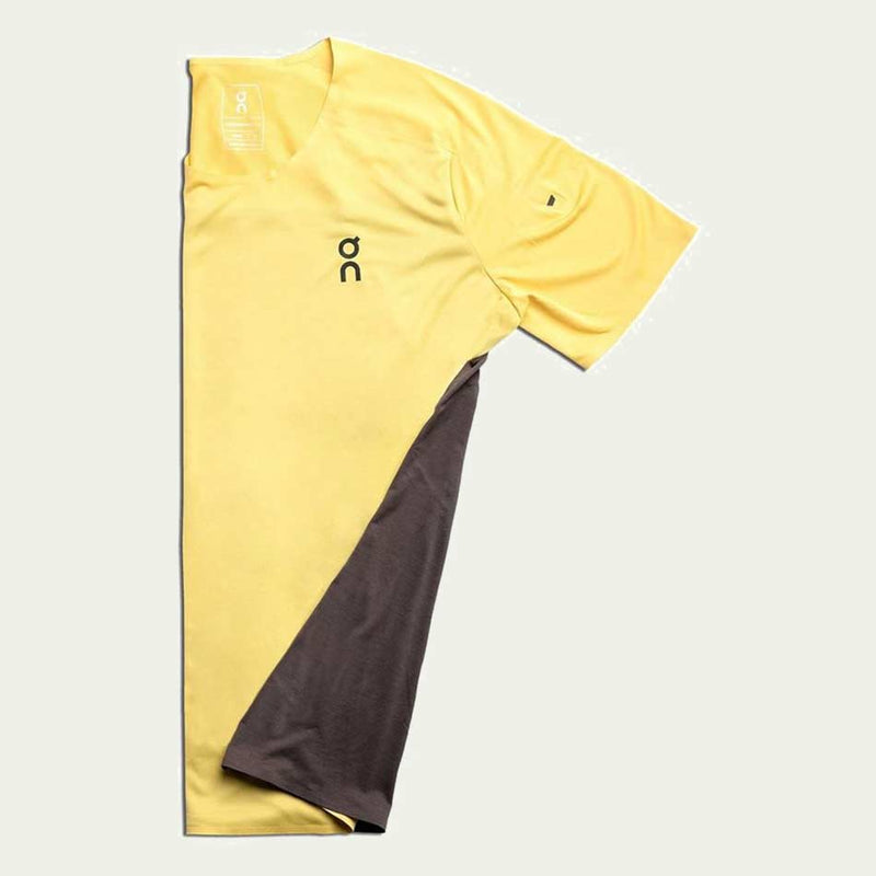 ON Men's Performance T Yellow AW20