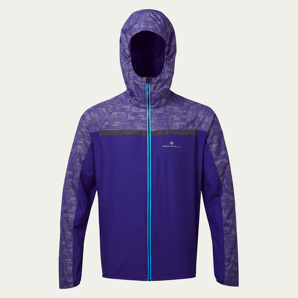 Ronhill Men's Momentum Afterlight Jacket Blue AW19