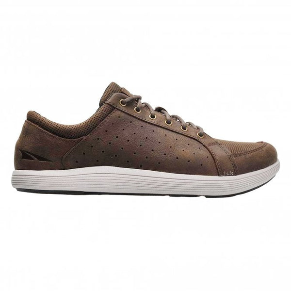 ALTRA Cayd Mens ZERO DROP & FOOT SHAPE Leather Casual Shoes Brown