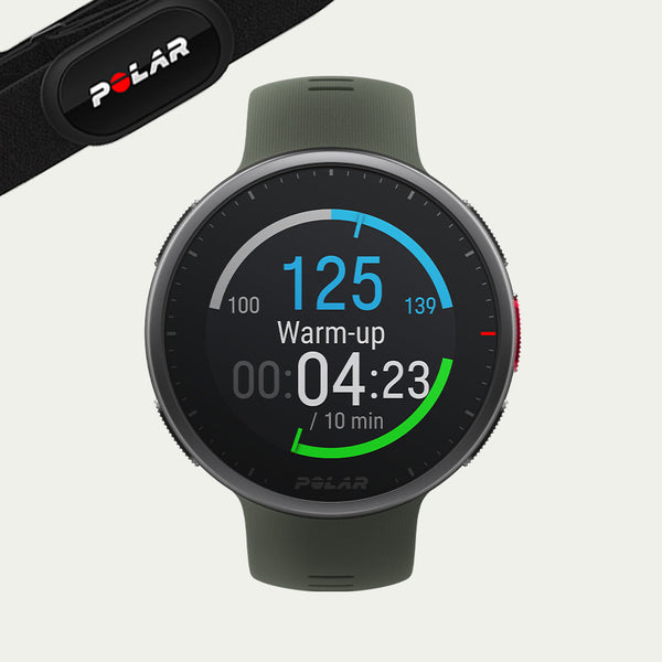 Polar Vantage V2 Green with H10 Heart Rate Sensor