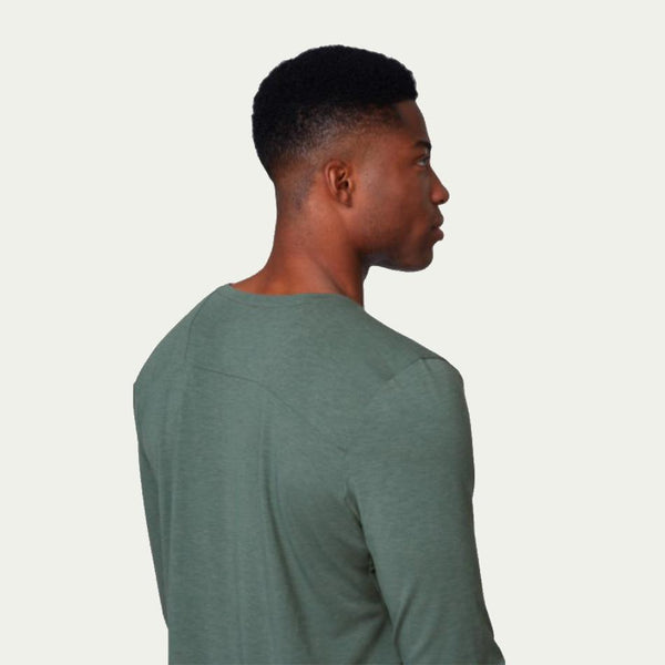 ON Men's Comfort Long T Green AW20