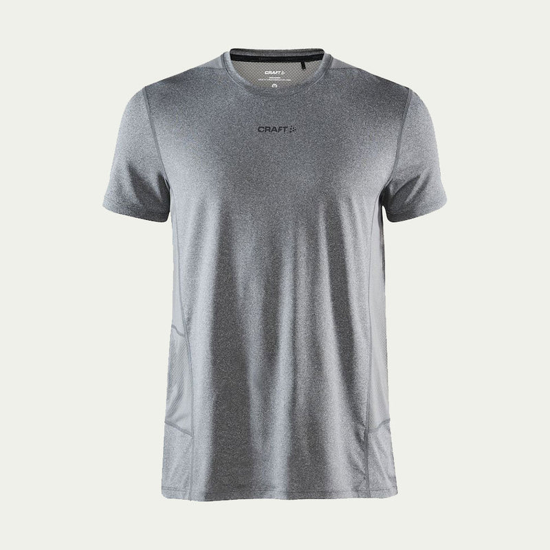 Craft Men's Essence SS Tee Grey AW20