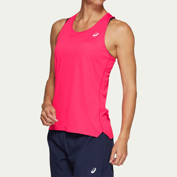Asics Ladies Silver Tank