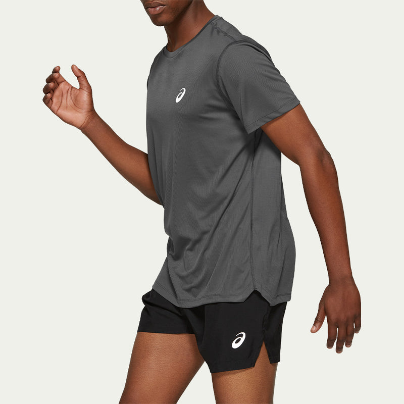 Asics Men's Silver SS Top